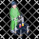 Medicine Trolley Icon