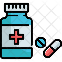 Healthcare And Medical Pills Pharmacy Icon