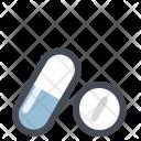 Medicines Drug Capsule Icon