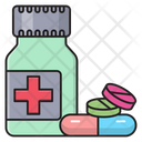 Medicines Pills Drugs Icon