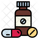 Medicines Antibiotics Tablet Icon