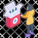 Medicines Box Icon