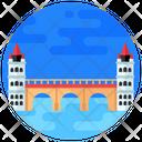 Bridge Medieval Arch Bridge Footbridge Icon
