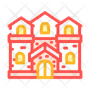 Medieval Bungalow Icon