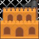 Medieval Castle Castle Fortress Icon