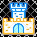 Medieval Castle Color Icon