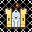 Castle Medieval Artifact Icon