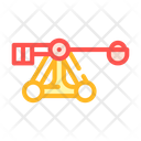 Medieval Catapult Weapon Icon
