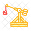 Medieval Catapult Color Icon