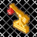 Medieval Catapult Isometric Icon