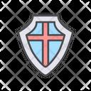 Medieval Roman Shield Icon