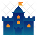 Building Medieval Tower Icon