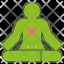 Meditate Mindfulness Chanting Icon
