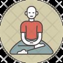 Meditating man Icon