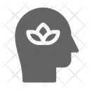 Meditation Therapy Relaxation Icon