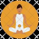Chakra Sacral Meditation Icon