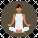 Meditation Yoga Icon