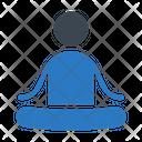 Yoga Meditation Posture Icon