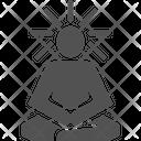 Meditate Meditation Human Icon