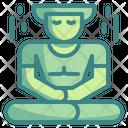 Meditation Yoga Wellness Icon