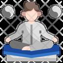 Meditation Yoga Exercise Icon