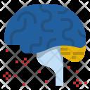 Meditation Brain Waves Icon
