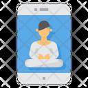 Meditation Smartphone Application Icon