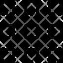 Grid Medium Thumbnails Icon