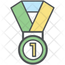 Medle Position Medal Icon