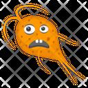 Microorganism Medusa Microorganism Scary Bacteria Icon
