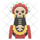 Iwomen Skeleton Medusa Skeleton Medusa Icon