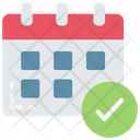 Meet Deadlines Schedule Time Icon