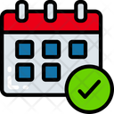Schedule Time Calendar Icon