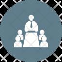 Meeting Human Activitiy Icon