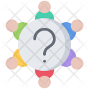 Meeting Discussion Question Icon