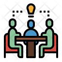 Meeting Talking Sharing Icon