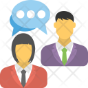 Chat Communication Convention Icon