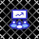 Meeting Report Analysis Icon