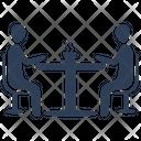 Job Interview Meeting Teamwork Icon