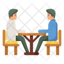 Meeting Conference Discussion Icon