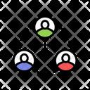 Human Communication Color Icon