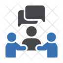 Discussion Conversation Meeting Icon