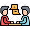 Meeting Group Communication Icon
