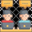 Meeting Communication Speaking Icon
