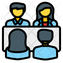 Meeting Discussion Communication Icon