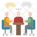 Meeting Conference Table Icon