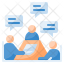 Meeting Conference Communication Icon