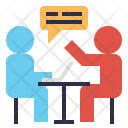 Meeting Discussion Talk Icon