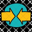 Meeting arrows Icon