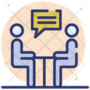 Meeting Discussion Meeting Official Meeting Icon